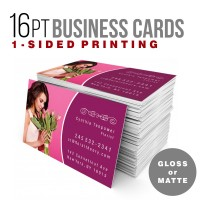 250 - 1-sided Business Cards